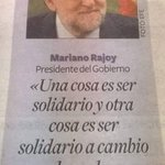 Rajoy, el gallego. Rajoy, el poeta. Rajoy, el altruista. http://t.co/RTKdQI7u6C