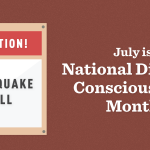 July of every year is National Disaster Consciousness Month: http://t.co/VQSjX3CWig #MMShakeDrill http://t.co/lAWA506u61