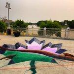 3D chalk in St. Boniface. Happy #CanadaDay #Winnipeg! http://t.co/MytF5ZlR7c