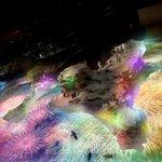 すみだ水族館でプロジェクションマッピング「ペンギン花火」プールの床にあがる光の花火 http://t.co/eqqpNlaWme http://t.co/sHPzmdxQe0