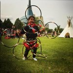 Awesome. RT @meltait: Happy Canada Day from a pow wow honouring #MMIW @theforks The littlest hoop dancer! http://t.co/V7Ka10uRxN #Winnipeg