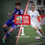 Not long to wait now. Who will face #USA in the final? #JPN vs #ENG - In @FIFAWWC semi Final!! Come on #ENG http://t.co/xBN04oDMYq