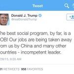 Dear Donald Trump, Twitter is forever. http://t.co/srWd9TnOdo