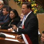 Dice Varela que la Caja de Ahorros dejó de ser de 4 familias para ser el banco de la familia panameña. http://t.co/JzoVVEAMtY