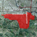 After some confusion, fireworks are banned in Eugene south of 18th Avenue and east of Agate Street. #KEZIwx @KEZI9 http://t.co/QOZcTFWSVT