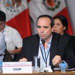 Guillermo Ferreyros, Pte. Capítulo CEAP Perú, dio inicio a la Cumbre Empresarial de la Alianza del Pacífico http://t.co/X2Ibe3elf9