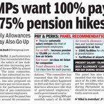 Modi tells citizens to #giveitup LPG subsidy but MPs want 100% pay, 75% pension hikes http://t.co/zztGFRfifi http://t.co/rZvkrPtiLJ
