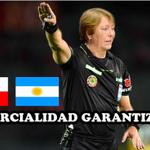 Árbitro de la final Chile-Argentina. #chile2015   http://t.co/ER4lJODlMT
