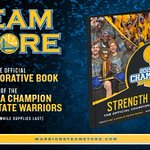 Celebrate the #Warriors historical season with the Official 2015 Commemorative Book » http://t.co/1ULvMq1KkT http://t.co/iazJcI4Anh