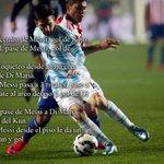 TREMENDA actuación de Messi contra Paraguay. Y hay gente que lo sigue matando .. http://t.co/cQ6L1tessa