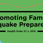 @DepEd_PH promotes family preparedness for earthquake via department order: http://t.co/0PokVFgKQg | http://t.co/nvTKM2Gjkk