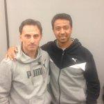 Un lujo reencontrarme con Ñol Solano. Hoy, asistente de Ricardo Gareca en la selección de Perú. Un maestro! http://t.co/7S2Y7nNOMv