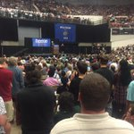 """""""This campaign is about creating a political revolution in America."""" -@BernieSanders #FeelTheBern http://t.co/lfOLCfxXSB"""