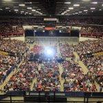 A full house in #Madison 4 @BernieSanders @NicholsUprising #FeelTheBern #Bernie2016 http://t.co/m5tkDEB282