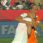 Possibly the cruellest way to go out of a World Cup. #Eng players consoling Laura Bassett: http://t.co/7atjOudhOs http://t.co/ETwQCcsjVV