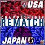 The rematch is set. #USA #JPN http://t.co/RWfLsOglVR