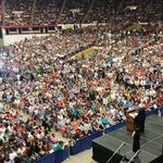 Yo! These folks seriously #FeelTheBern @BernieSanders @HillaryClinton @JebBush @marcorubio @realDonaldTrump http://t.co/eLSxik2ZAn