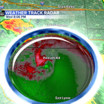 Strong rotation in Pleasant Hill. Tornado reported 1 mile northeast of Pleasant Hill http://t.co/GrmgNmK64o
