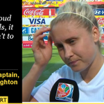 """#ENG skipper Steph Houghton on the """"amazing journey"""" England have been on: http://t.co/jhpH8tauFj #Lionesses http://t.co/kptmpe0zr0"""