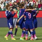 サッカー女子W杯準決勝。日本はイングランドを2-1で下し、2大会連続の決勝進出を決めました!決勝ではアメリカと対戦します。(写真:AP/アフロ)http://t.co/n4nwRyJAQA #nadeshiko #jpn http://t.co/a1s5LJIDcB