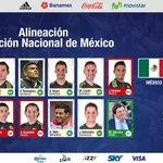 Esta es la alineación de #México, con 7 jugadores que militan en Europa, para enfrentar a #Honduras. @miseleccionmx http://t.co/pRePLnAwV3