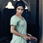 RT @TheVioletStreet: A thing of beauty is a joy forever! @konkonas looks lovely on @LOfficielindia in a @anavilamisra saree! #style http://…