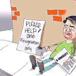 @mediacrooks having failed to even get a secretarys resignation...Arnab @TimesNow has taken to desperate measures http://t.co/Wk1ur6DnrT