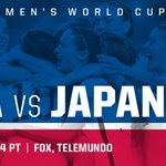 The @FIFAWWC Final is set! Look Familiar? #USAvJPN on Sunday! #Believe http://t.co/yKPRRvvWLv
