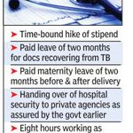 #Mumbai: 4,000 resident doctors to stay away from work today http://t.co/rp5PilNbSV http://t.co/Eok5ieFTBK