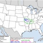 Latest excessive #rain outlook valid through early tomorrow morning. #mowx http://t.co/aNyufFeySA