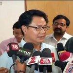 """Kiren Rijiju """"delays"""" Air India flight, 3 """"offloaded"""" to accommodate him, PA http://t.co/q2Qpr6rdZ7 http://t.co/pr8WQWNiWi"""