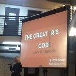 Listening to @AmyWilkinson talk about the key success factors to #entrepreneurship @Parisoma. #CreatorsCode #SF http://t.co/LVEaCnwLGU