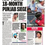 AAP readies Punjabi tadka, to unveil 18-monh offensive of agitation & exposes to win state. http://t.co/8bsTdlPFqP