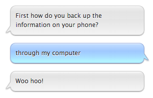 apple support is so enthusiastic while i am crying about having to reset my whole phone http://t.co/u3SsuWRShK