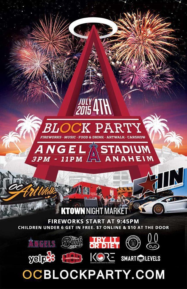 http://t.co/RcY1Na1Zcy The @OCblockparty #4thofJuly Spectacular happening THIS WEEKEND at @angelstadium in #Anaheim! http://t.co/IPRoQEUk5n
