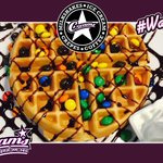 What is your favourite Waffle combo? Why not try our M&M waffle #Southend #ChocolateWaffle #Dessert http://t.co/umFeIVDSZU