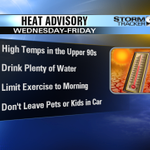 Hot and dry weather continues through the Fourth of July. DETAILS: http://t.co/osI7XcJg41 #KEZIwx @KEZI9 http://t.co/OovRcLfKvc