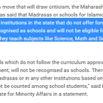 """Muslim kids should go to schools that dont teach maths and science: AAPs idea of """"minority rights"""" http://t.co/HXlPS7VeNr"""