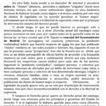 Pedraz en el auto Zapata dice que el señor @daniel_portero y la Fiscalía se dedican a perseguir al enemigo político. http://t.co/iIioJX6uLj