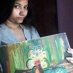 @PrafullaArtFdn #KnowThyArtist my ART selfie.. #Artfie http://t.co/wsplFDhWej