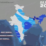 Graphical illustration of pan-#India 24-hour #monsoon forecast for July 3, 2015. FULL REPORT: http://t.co/8FKmEoyYnl http://t.co/jBS0q5Lm8w