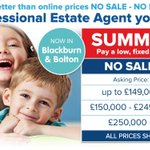 Are you selling a property in #Bolton #Blackburn then @Easyhomeseller will save you ££££s this summer 01204 894321 http://t.co/SuF08th64R