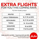 Check out our extra Raya flights! Book @ http://t.co/OavVHA5LQe & celebrate with your family http://t.co/Ckt7kmz25w