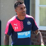 Sylvain Marveaux is all smiles after returning to #nufc http://t.co/03AjjDnN2L? http://t.co/uUTTqMu7kU