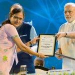 Sharing the precious occasion of felicitation of Mrs. Tanuja Raichura by PM Shri @narendramodi in @_DigitalIndia http://t.co/VVXdLQU9ZC