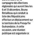Rendez-vous ce soir à #LaBaule avec @BrunoRetailleau ! #PDL2015 #LoireAtlantique http://t.co/95lxswqmTx