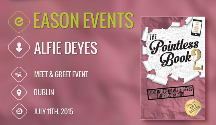 Apply for your FREE tickets to meet @PointlessBlog @easons on Eason Edition! http://t.co/DUqQdFlLra http://t.co/rpkYEAswtd