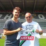 OHL stelt twee aanwinsten voor: Konstantinos Rougalas (foto) en Slobodan Urosevic Welkom bij de club! #OHL #COYW http://t.co/c1ETu8IJY5