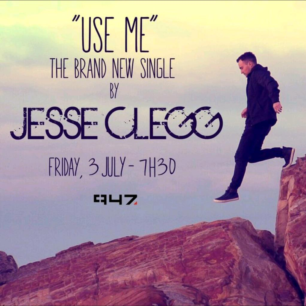 I'll be on @947 tomor at 7:30am with @WhackheadS & the new single Use Me will play for the 1st time! Exciting! Pls RT http://t.co/2DGouGtyj6