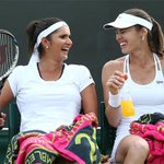 Sania Mirza - Martina Hingis advance to 2nd round of the Wimbledon Championship with a straight-set victory http://t.co/AkW2kL0vGM